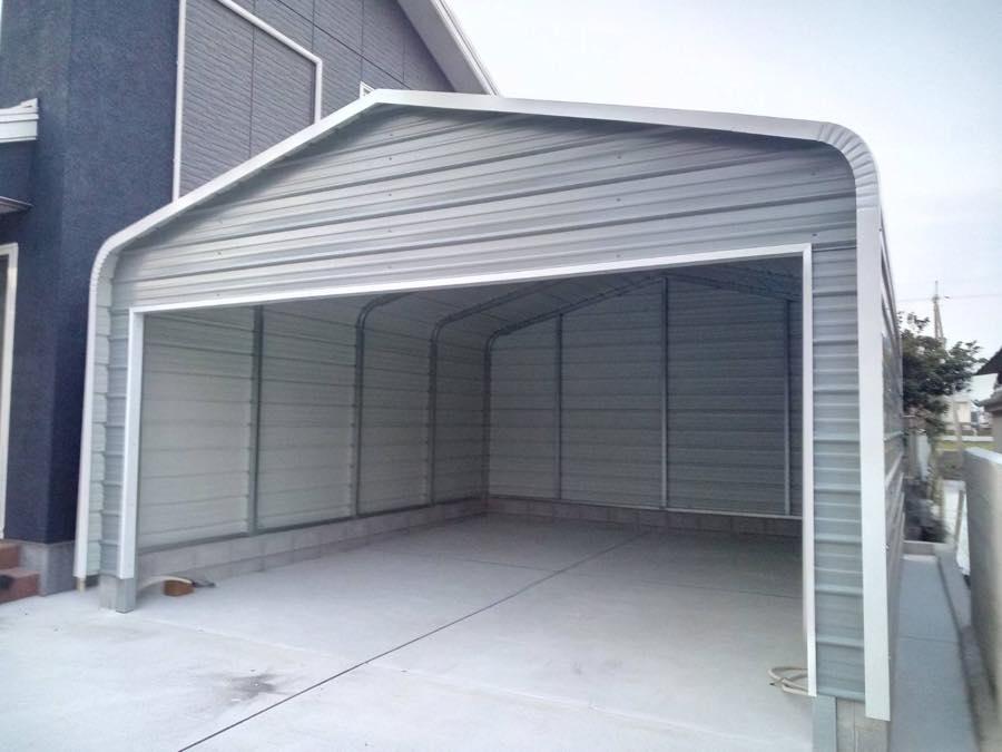株式会社ガレージワン|施工実績|カリフォルニアガレージ|ガレージ