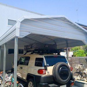 株式会社ガレージワン|施工実績|カリフォルニアガレージ|カーポート